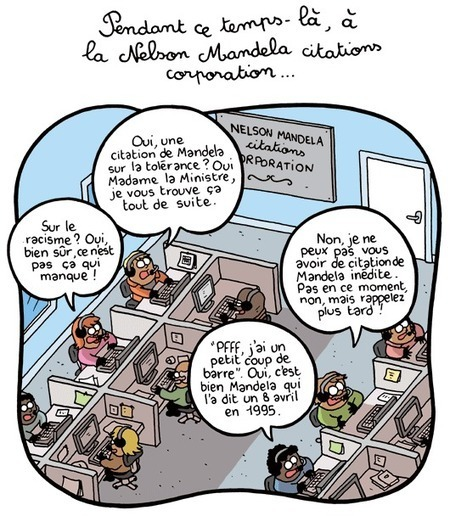 Pendant ce temps-là, à la Nelson Mandela citations corporation ... | Baie d'humour | Scoop.it