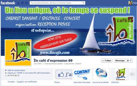 Facebook : Îlo café d'expression 69 crée son formulaire de réservation | Astuces numériques des pros du tourisme du Rhône | Scoop.it