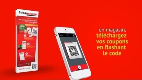 Intermarché lance les coupons de réduction sur mobile   Retail technologies   Scoop.it