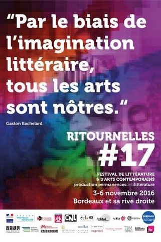 (agenda) 3 au 6 novembre, Bordeaux, Ritournelles #17 – | Poezibao | Scoop.it