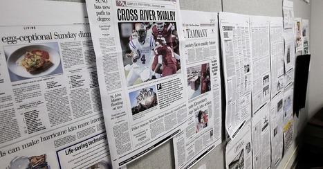 As Newspaper Revenues Decline, Print Media Stocks Rise   Digital and multimedia journalism   Scoop.it