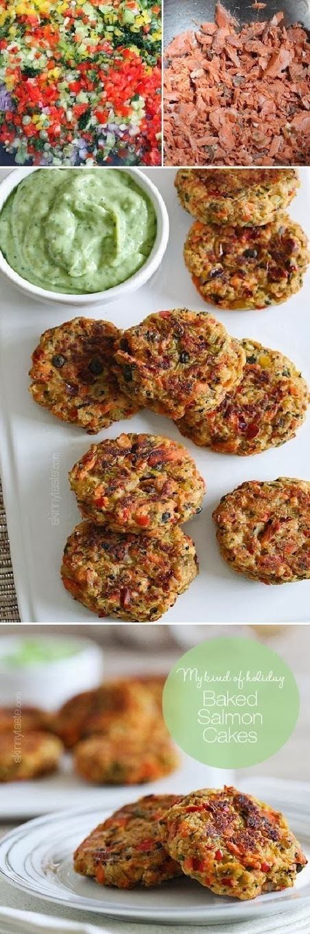 Food & Drink: Baked Salmon Cakes...sooo delicious   food and drink   Scoop.it