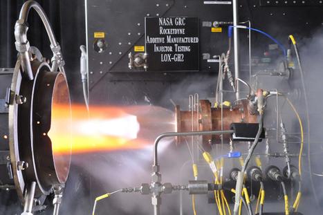 Un moteur de fusée 3D-imprimé fait ses premiers pas | FabLab - DIY - 3D printing- Maker | Scoop.it