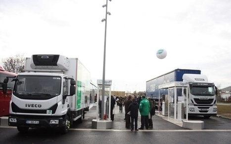 Gaz naturel : la plus grande station-service de France inaugurée près de Paris (Caradisiac, 25/11/16) | Le Gaz Naturel | Scoop.it