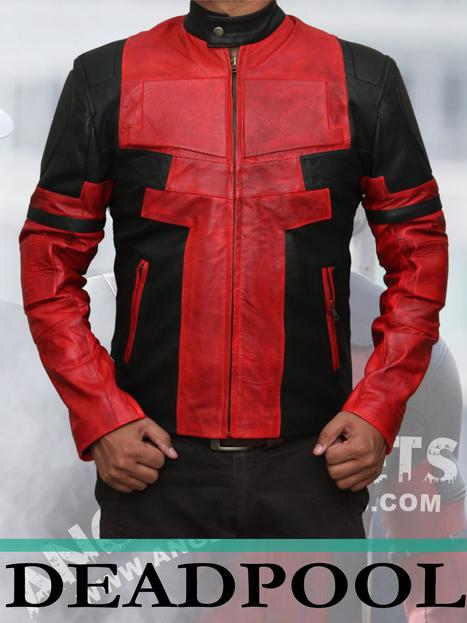 Deadpool Leather Jacket | Black Friday & Cyber Monday Deals | Scoop.it