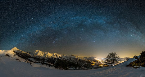 Milky Way over Saint Lary-Soulan | Christian Portello | Scoop.it
