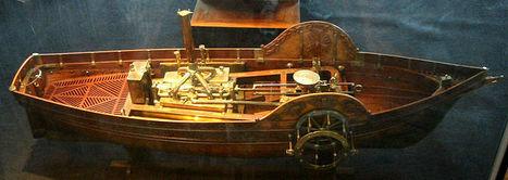 15 juillet 1783: Le Pyroscaphe, premier bateau à vapeur « ExploraLyon | Auprès de nos Racines - Généalogie | Scoop.it