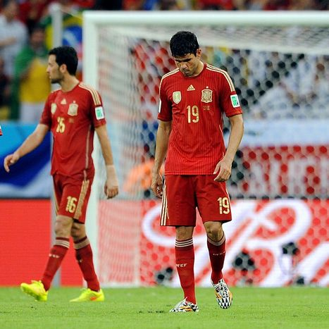 Spain exit 'horrible and vulgar' says Spanish media | FIFA World Cup 2014 | Scoop.it