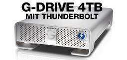 G-DRIVE 4 TB Thunderbolt Festplatte im Test (G-Technology)   iPhone News   Scoop.it