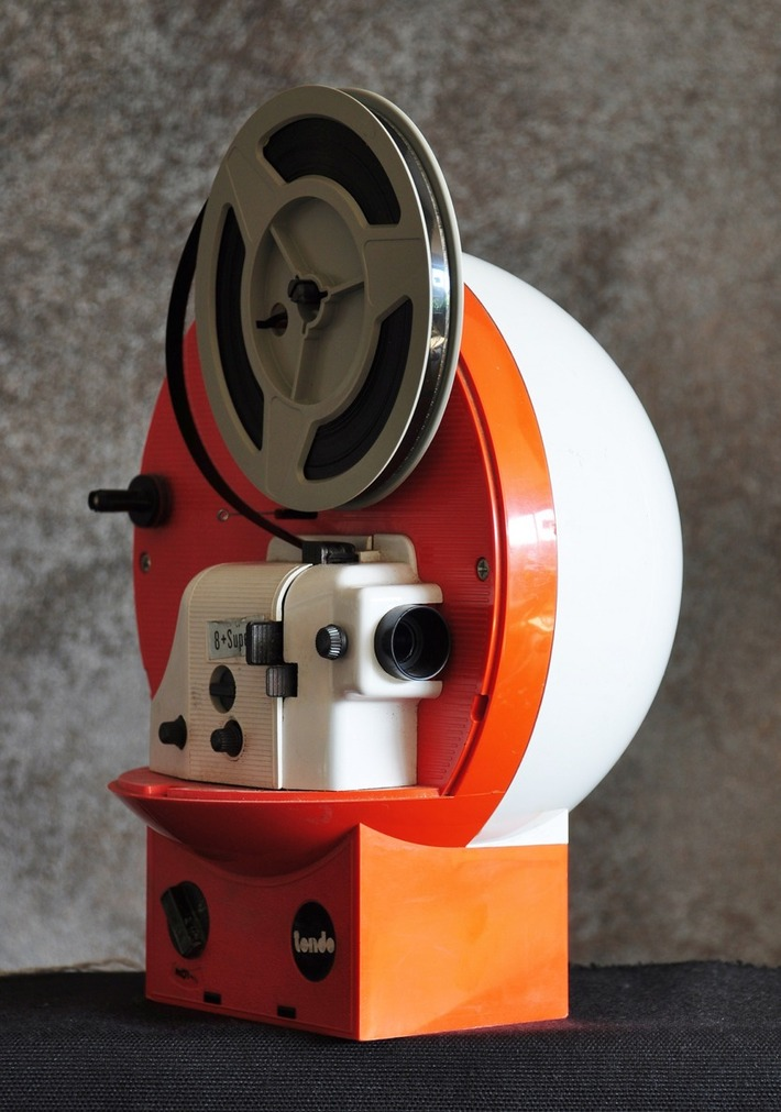 "1970s Polistil ""Tondo"" Super 8 Projector 