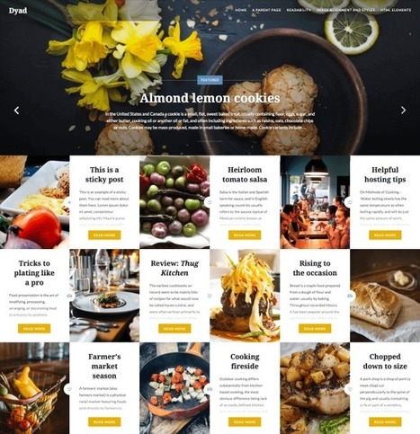WordPress | New Theme: Dyad | WordPress and Annotum for Education, Science,Journal Publishing | Scoop.it