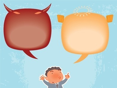 Building Social and Emotional Skills in Elementary Students: Inner Meanie and Inner Friend | 21st Century Literacy and Learning | Scoop.it