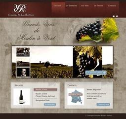 CP 05/05/2012 : Le Domaine Richard Rottiers par l'agence web O2 Graphics | Agence web O2 Graphics | Scoop.it