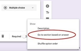 Two Google Forms Tips Every Teacher Should Know about ~ Educational Technology and Mobile Learning | TEFL & Ed Tech | Scoop.it