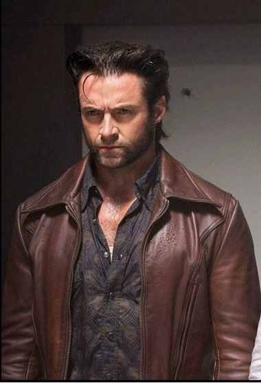See what you'll achieve with Super Cool Men's Fashion Technique - Bold, Brave New X-Men Hugh Jackman Brown Leather Jacket in just $188 | Leather Jacket Stylish | Scoop.it