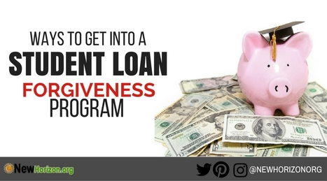 What are Student Loan Forgiveness Programs..And Do You Qualify | Daily Personal Finance Tidbits | Scoop.it