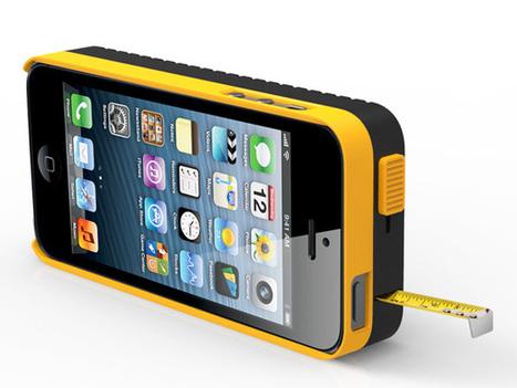 DeWalt iPhone 5 Case With Tape Measure Concept by Psychic Factory | L'actu Qama | Scoop.it