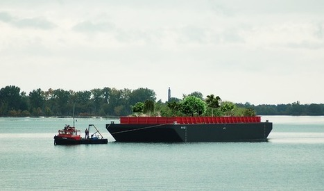 Floating urban forest coming to New York this summer | Vertical Farm - Food Factory | Scoop.it