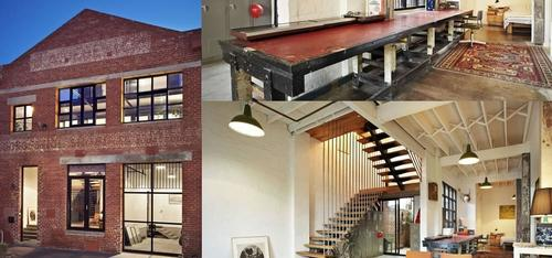 Beautiful Designed Houses: The Abbotsford Warehouse Apartments