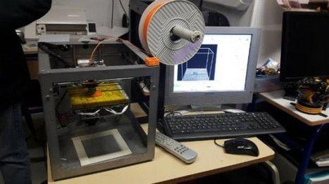 Dijon : des jeunes de la Mission locale fabriquent un véhicule autonome grâce à une imprimante 3D - France 3 Bourgogne   impression 3D   Scoop.it