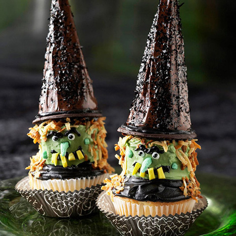 10 Frightfully Fun Halloween Cupcake Ideas - Babble (blog) | @FoodMeditations Time | Scoop.it