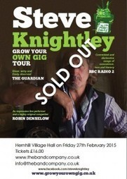 Steve Knightley Gig. Tickets Sold Out! - The Band Company | Event Planning | Scoop.it
