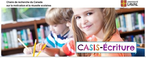CASIS-Écriture : un programme d'intervention visant à favoriser la motivation des élèves en écriture | Les troubles de l'écriture | Scoop.it