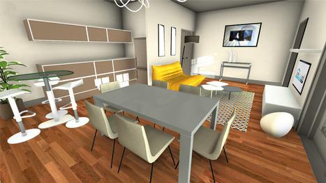 Visitez votre futur appartement en 3D / Visit your future flat in 3D | 3D Experiences | Scoop.it