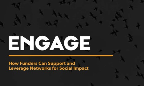 Engage: How Funders Can Support and Leverage Networks for Social Impact | networks and network weaving | Scoop.it
