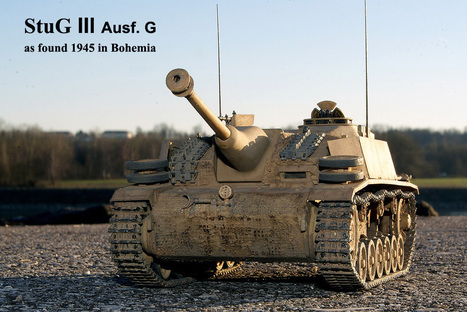 StuG III Ausf. Saukopfblende with the G | Military Miniatures H.Q. | Scoop.it