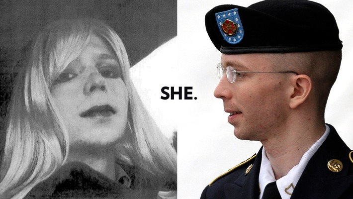 How Not to React to the News That Bradley Manning Is Transgender | Sex Positive | Scoop.it