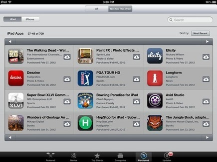 iPad Basics: How To Get Back an App You Delete on the iPad | iPad On The Brain | iPad Apps Elementary | Scoop.it