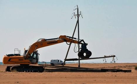 Comença el desmantellament de la línia aèria del Trabucador, a la Ràpita | #territori | Scoop.it