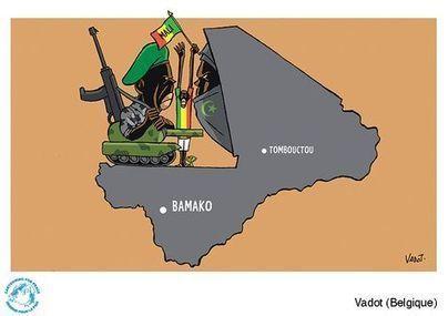 La France au Mali vue par les dessinateurs de presse - Libération | Dessins de presse | Scoop.it
