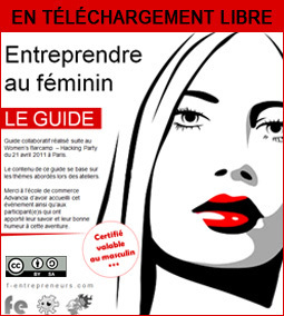 Guide collaboratif «Entreprendre au féminin» | aquarium | Scoop.it