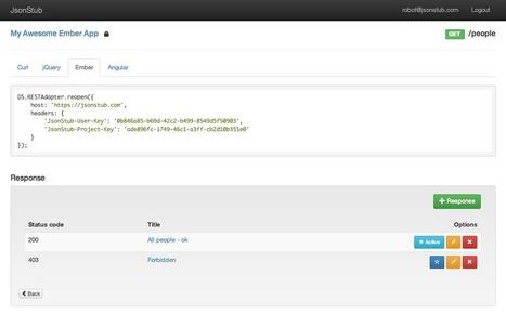 JsonStub   nodeJS and Web APIs   Scoop.it