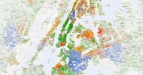 Mapping Segregation | digital divide information | Scoop.it