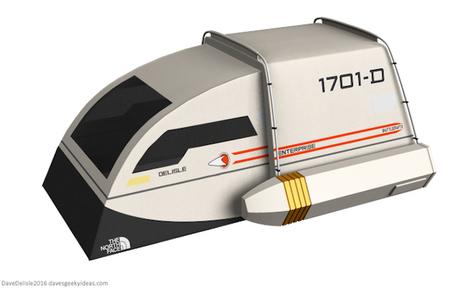 une tente en forme de navette Star Trek - 2Tout2Rien   HiddenTavern   Scoop.it