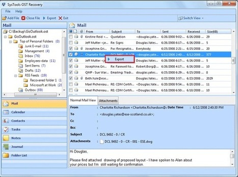 Outlook OST to PST File Converter 4.1 | OST to PST Converter | Scoop.it