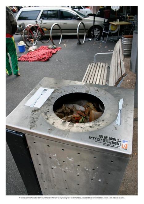 Quelques exemples créatifs de street marketing   Idées Street Marketing   Scoop.it