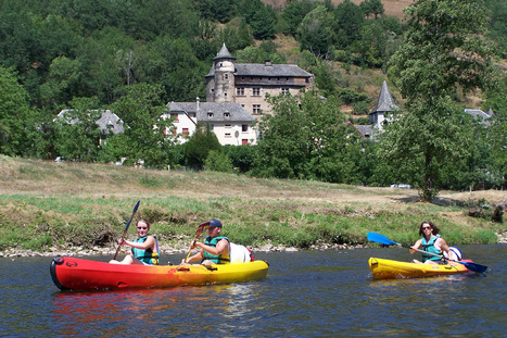 S'amuser sur le Lot, en canoë-kayak ou en rafting ! | L'info tourisme en Aveyron | Scoop.it