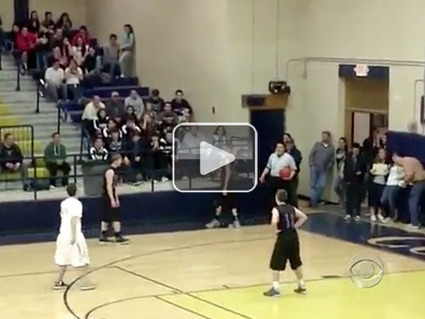 High school basketball player passes ball to mentally challenged player on the other team so he can score a basket (Video)   Sports News   Scoop.it