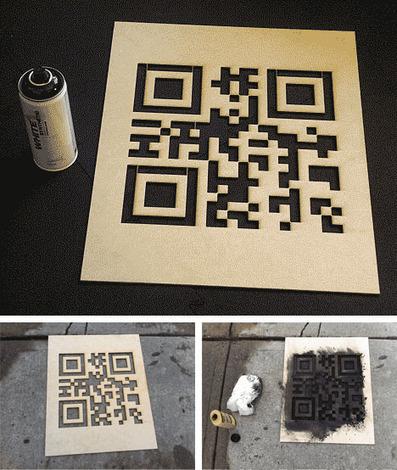 QR Hobo Codes: Secret-Symbol Stencils for Digital Nomads ... | Using QR Codes | Scoop.it
