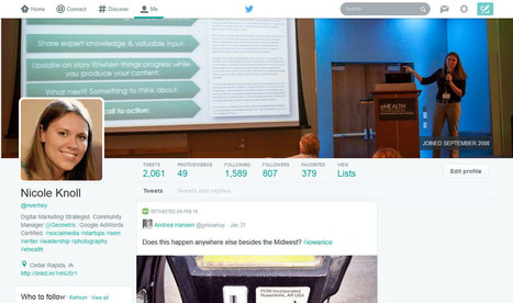 Twitter's Possible Profile Redesign: What You Need to Know & Actions to Take Right Now - GeoVoices | Psychology in Social Media | Scoop.it