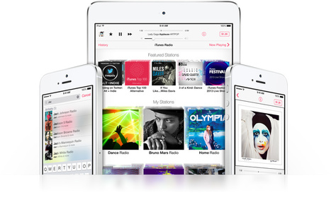 Apple - iTunes Radio - Hear where your music takes you. | Tech Mentor | Scoop.it