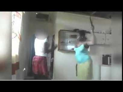 Caribbean mum whipping her daughter | Staged | Scoop.it