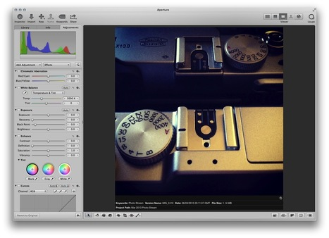 My Workflow for Working with Fuji X-Trans Files in Aperture | Thomas Fitzgerald | Fuji X-Pro1 | Scoop.it