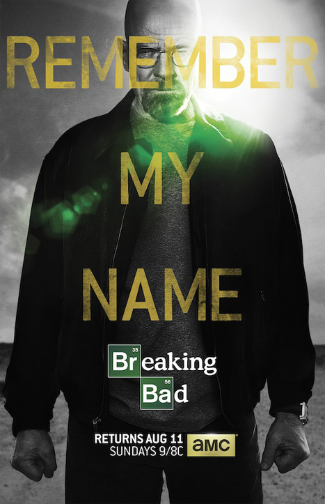Breaking Bad First Look: Check Out the Provocative Poster for Final 8 Episodes | Breaking Bad | Scoop.it