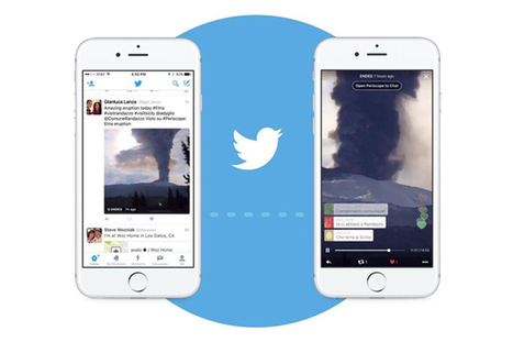 Twitter, dirette Periscope disponibili nella timeline del social network | SEO ADDICTED!!! | Scoop.it