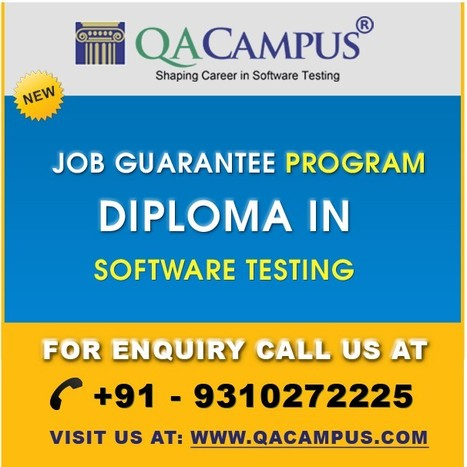 Are Job Guarantee Courses in Noida, Delhi/NCR really solving the purpose? | Software Testing Institute | Scoop.it